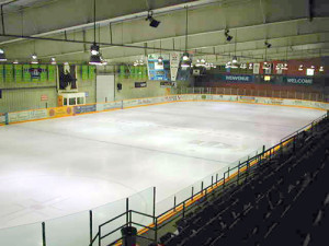 ice rink in larose arena image